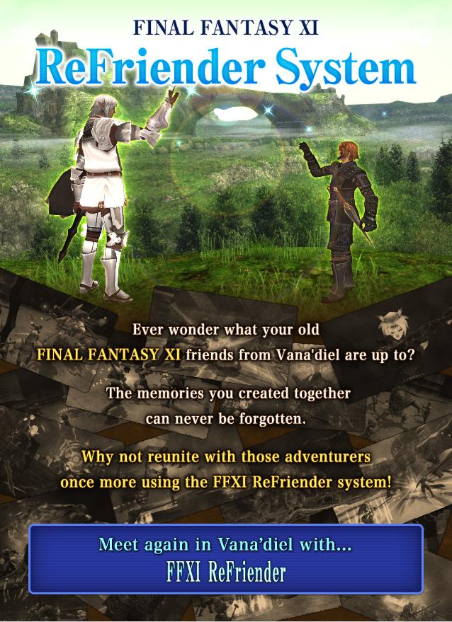 Ffxi Refriender System