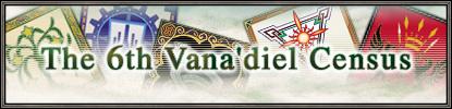 6th Vana'diel Census