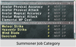 New Merit Point Abilities